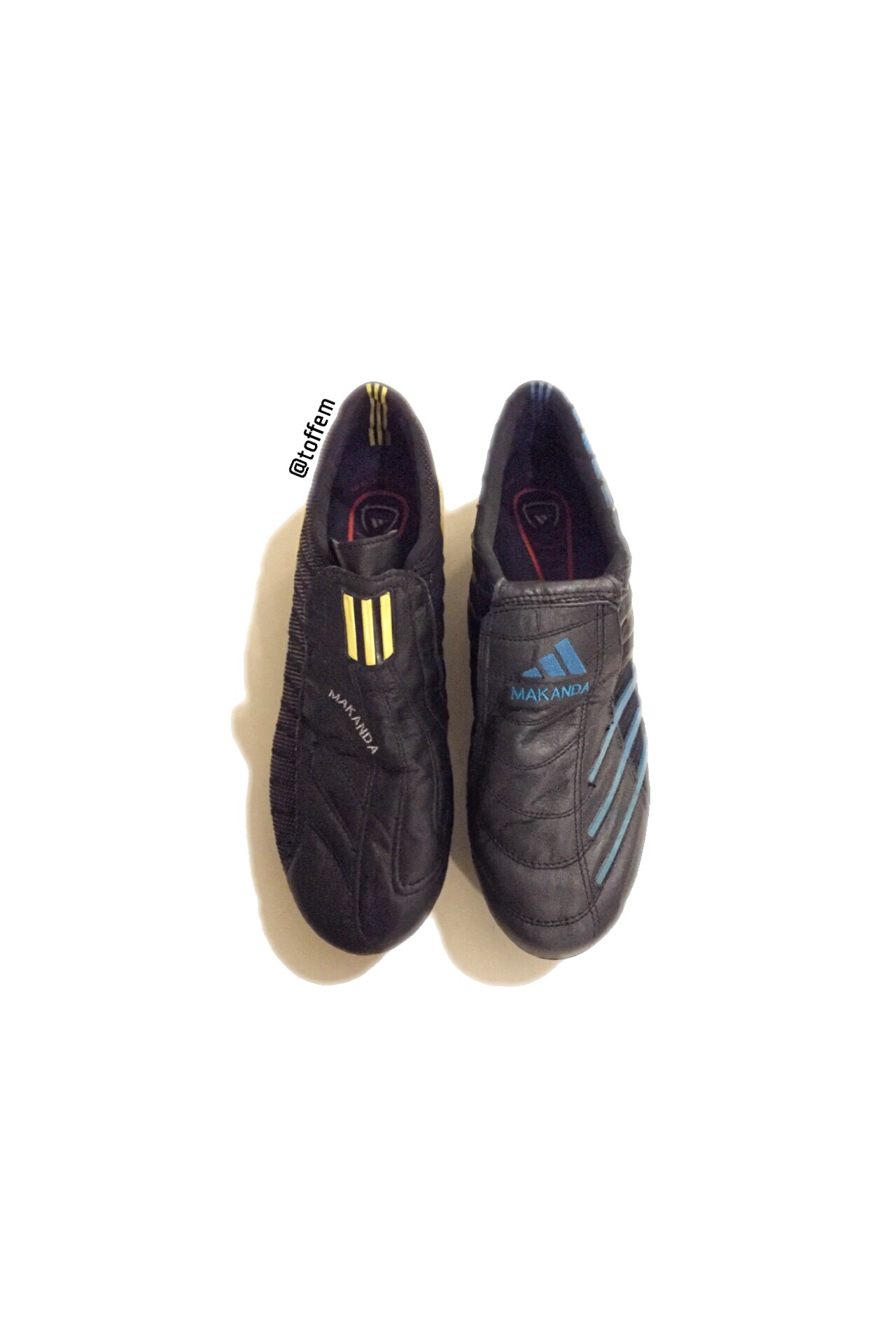 20d87e651 First ever Adidas F50 Sg launched in 2004 in original black yellow colour  and I think it was one of the first boots to cover the laces for a ...