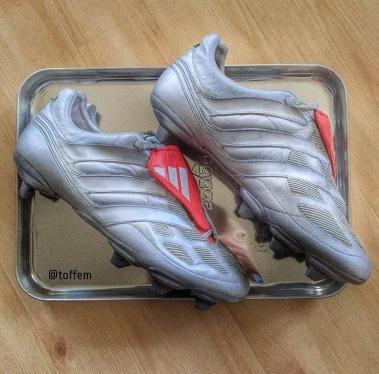 """segmento clima arco  Adidas Predator Precision Sg """"Platinum"""" – Boots Vault"""
