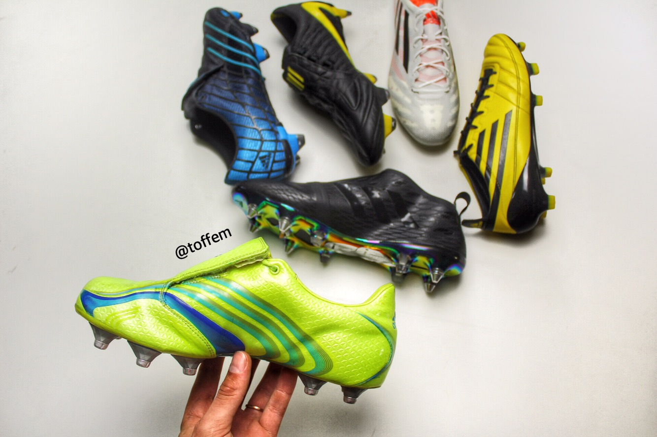 f64cc44b5 2006 became a big year for Adidas F50 as the Adidas F50+ Tunit was revealed  along side the World Cup in Germany. First time ever you could customize  your ...