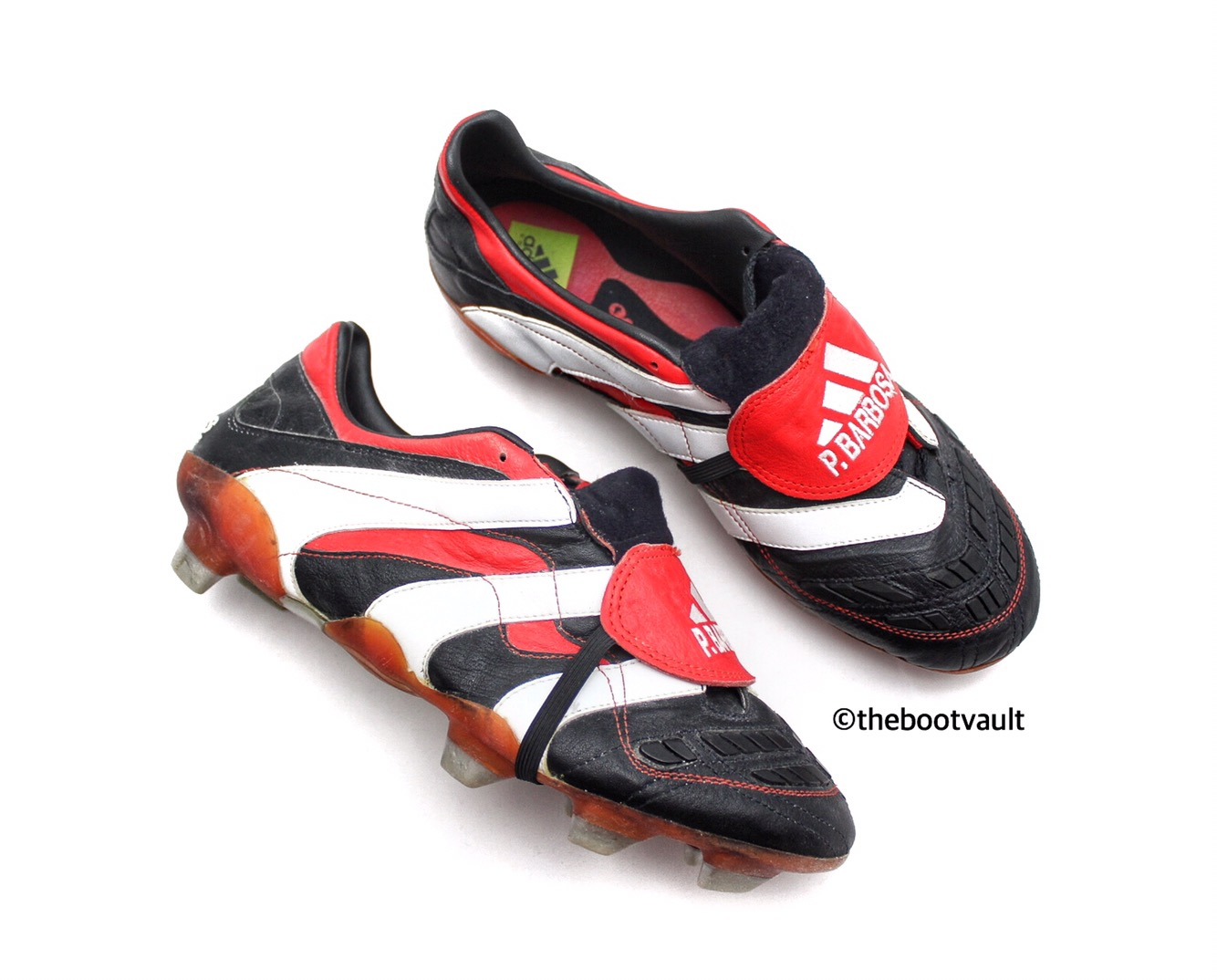 5a39c9503 Adidas released this boot in four colours  Black white red